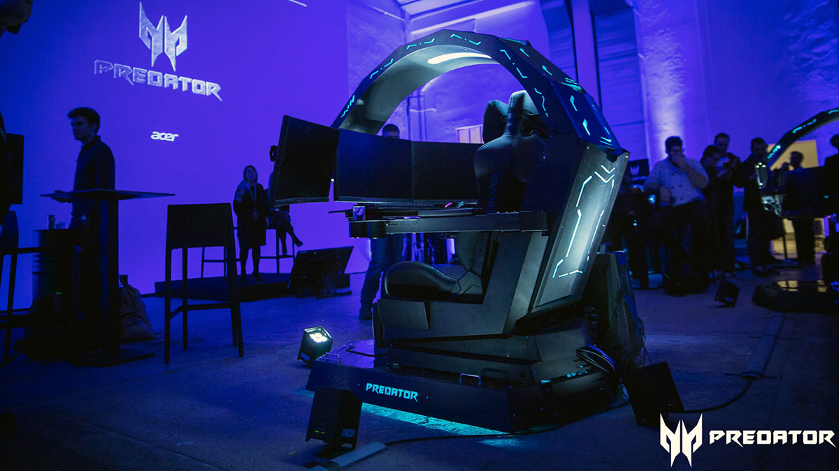 È arrivato il Predator Thronos di Acer, la postazione definitiva per il gaming