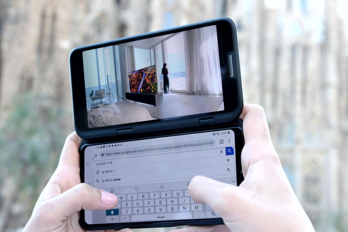 LG: Android 10 disponibile per LG V50 ThinQ