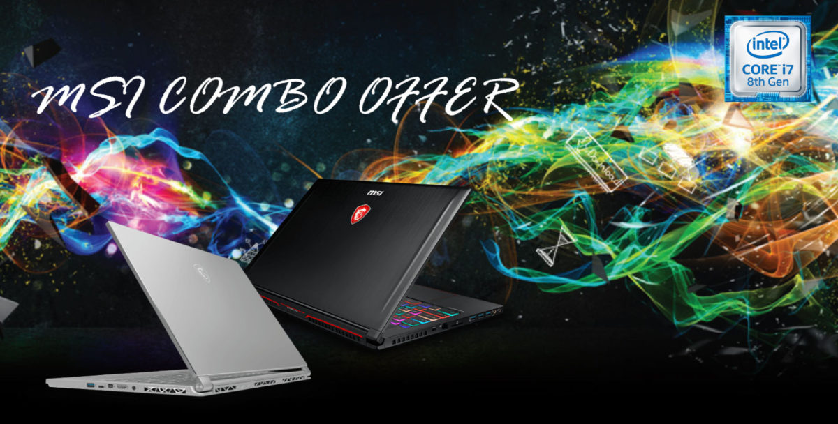 MSI Combo Offer: sconti e impedibili bundle fino 29 Marzo