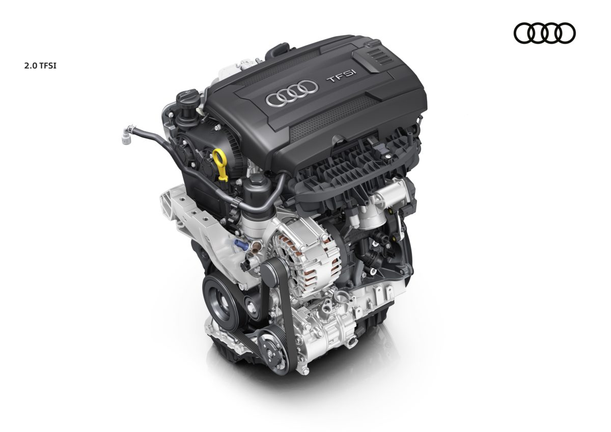 "Il motore Audi 2.0 TFSI è ""Engine of the Year"""