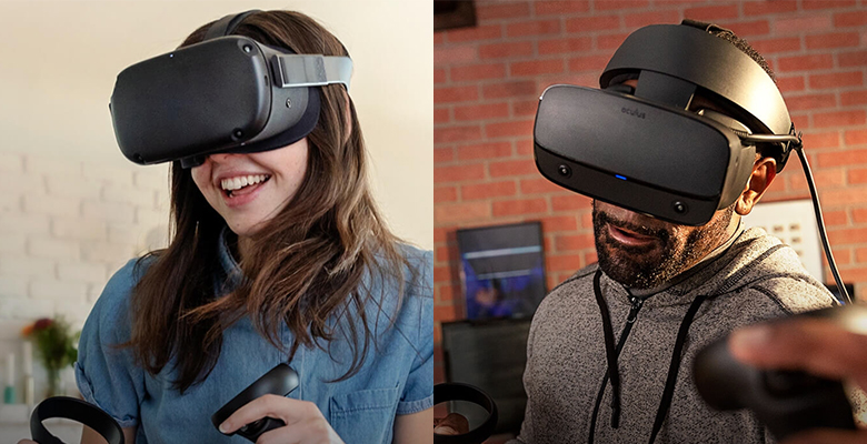 Oculus Quest e Oculus Rift S sono in vendita!