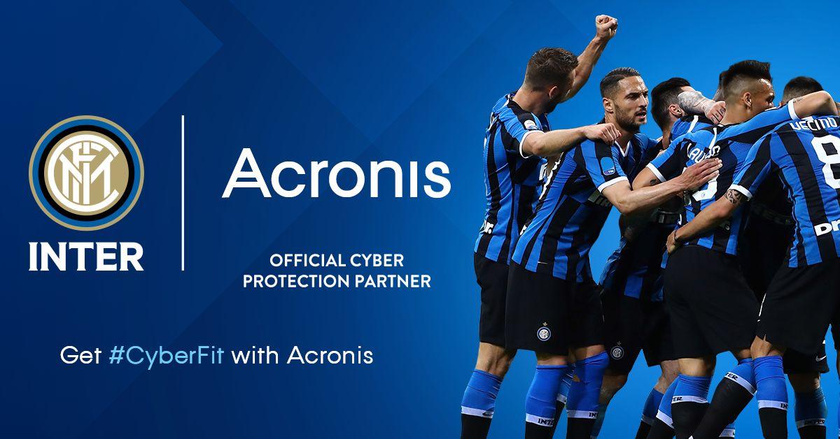 Inter e Acronis insieme per l'infrastruttura IT a servizio del calcio