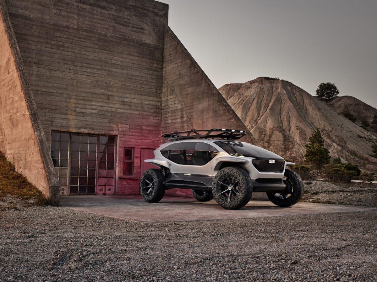 Audi AI:TRAIL quattro, il fuoristrada del futuro
