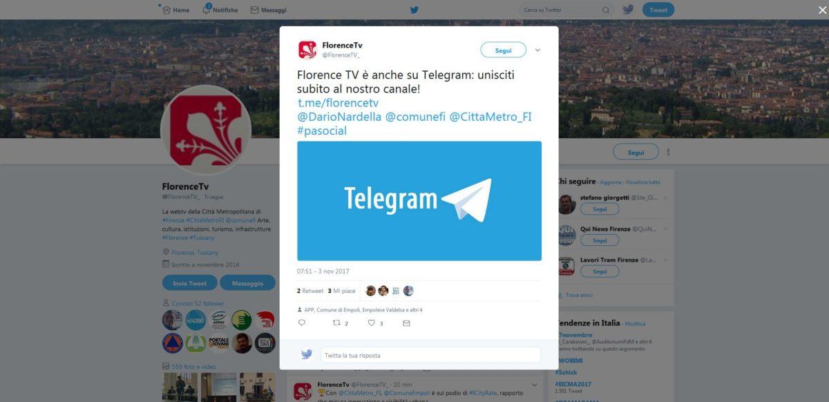 Telegram: come utilizzarlo nella Pubblica Amministrazione
