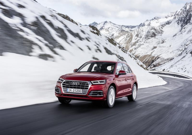 La nuova Audi Q5 nelle concessionarie italiane nel corso del primo trimestre del 2020