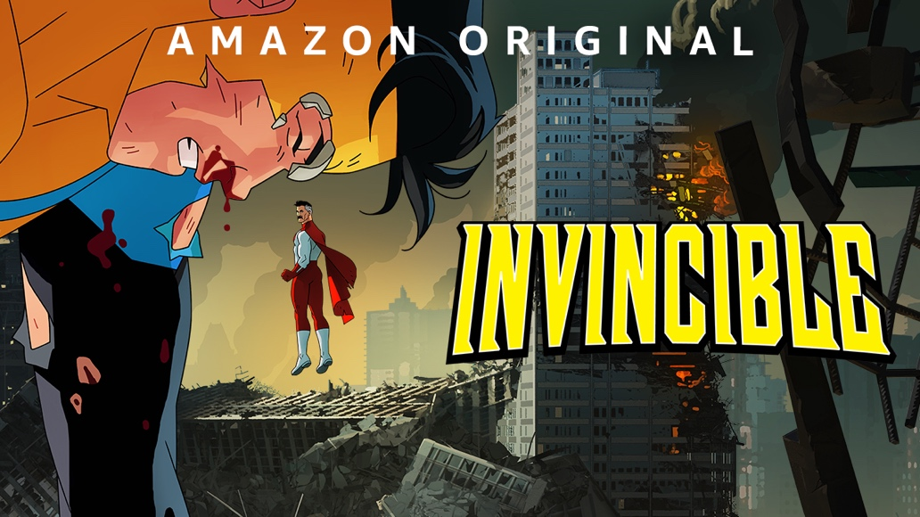 Invincible, trailer ufficiale della serie animata in onda su Prime Video