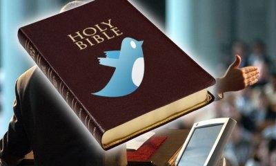 No Twittear durante el sermón?