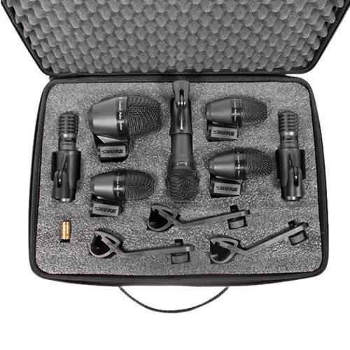 Shure PGADRUMKIT7 - Kit De Micrófono De Batería