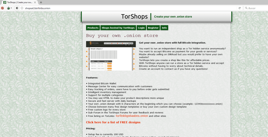 deep web en tor browser