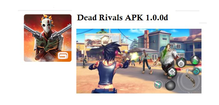 descargar dead rivals apk