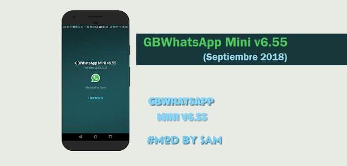 descargar gbwhatsapp mini 6.55