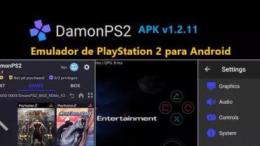descargar damonps2 apk emulador de ps2 para android