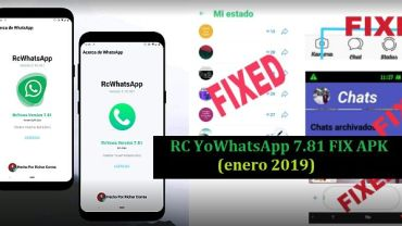 descargar rc yowhatsapp apk 7.81 fix 2019