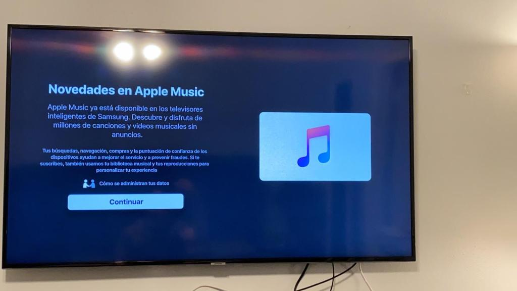 Apple Music Televisores