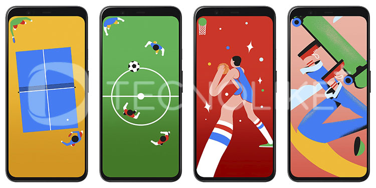 Wallpapers Pixel 4a Deportes.