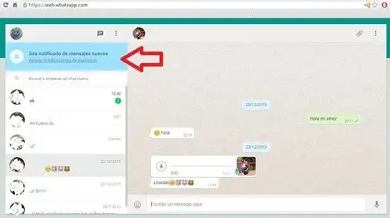 Usar WhatsApp en Chrome