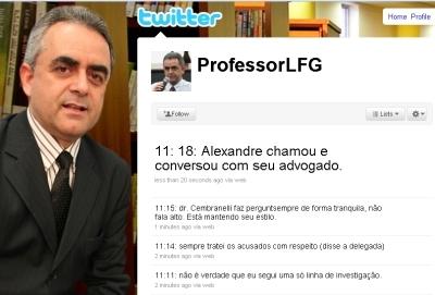Gomes: dados do caso Nardoni no Twitter