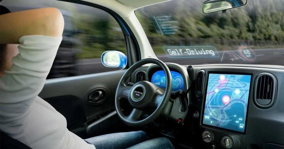 El 5G en coches de conducción autónoma