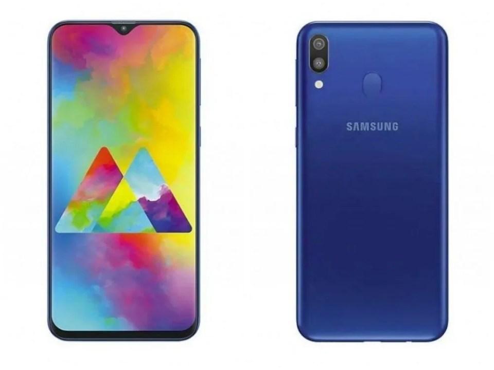 Galaxy M20 diseño