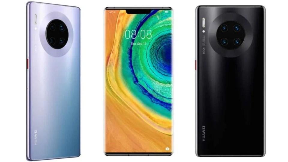 Acabados Huawei Mate 30 y Mate 30 Pro