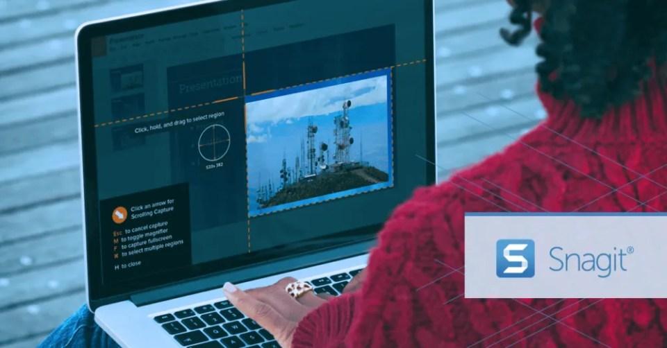 Snagit - mejores app para hacer capturas pc Windows