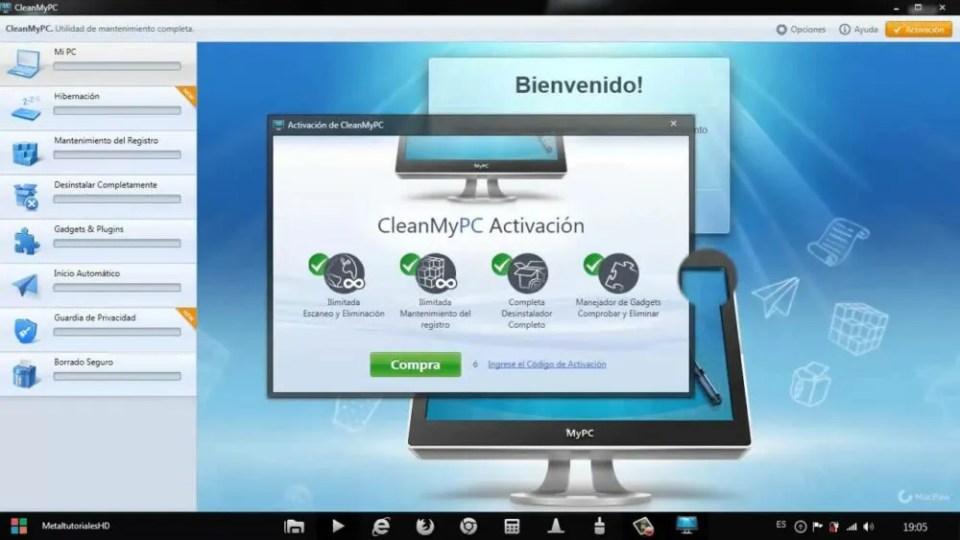 Desinstalar las aplicaciones preinstaladas de Windos 10 compeltamente con CleanMyPc