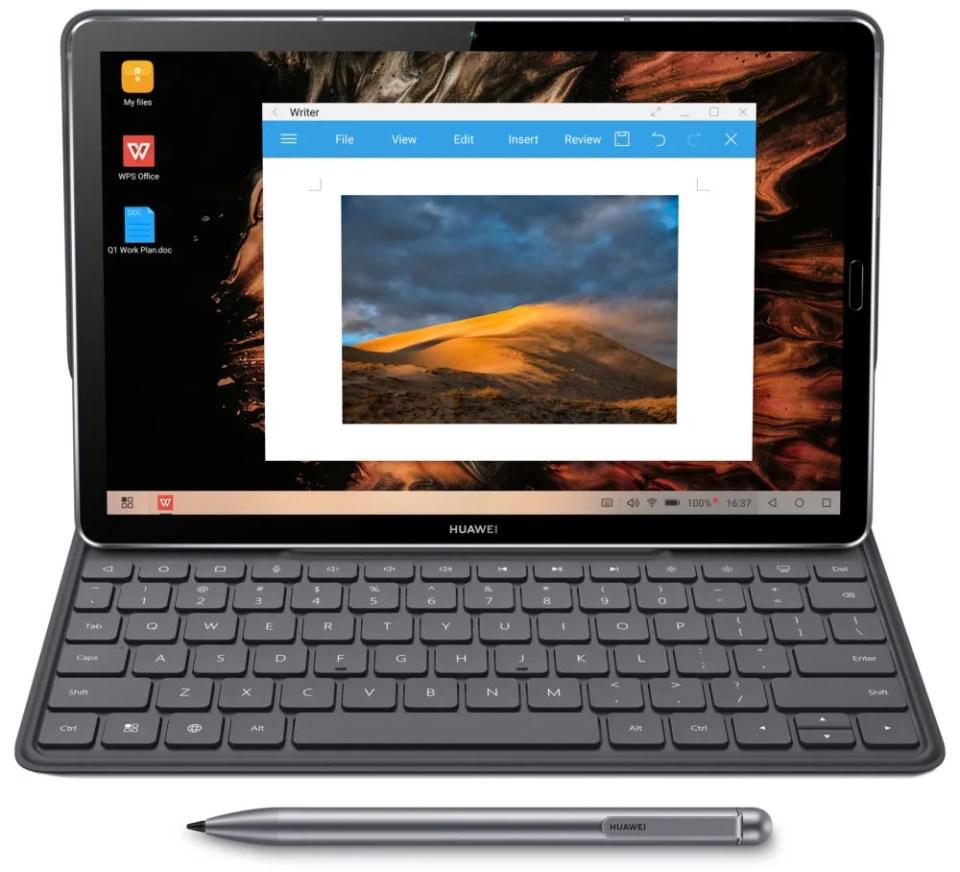 Puedes utilizarla con teclado y lápiz digital de Wacon