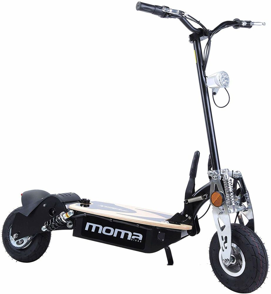 Moma Bike patinete eléctrico convertible en scooter