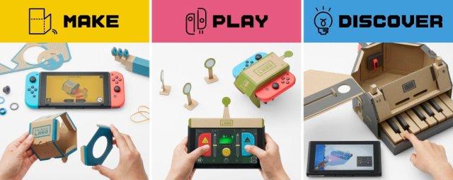 Nintendo Labo Que Es Y Para Que Edades Es Lo Nuevo De Switch
