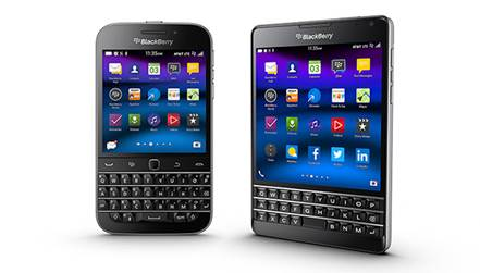 teléfonos BlackBerry