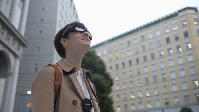 SmartEyeglass de Sony toma el relevo de las Google Glass