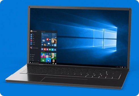 Así fue creado el fondo de pantalla oficial de Windows 10