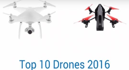 10 Mejores Drones 2016
