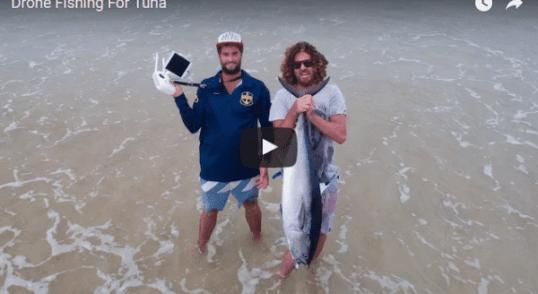 Pescar con drones
