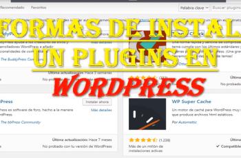 como instalar plugins en wordpress Gratuito