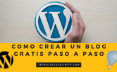 crear un blog gratis en wordpress
