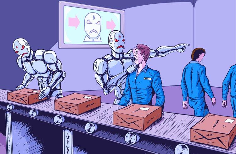 robots sin humanos