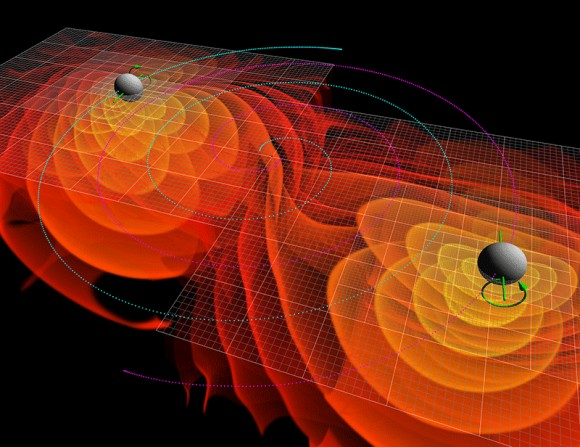 tecnopia-ondas-gravitacionales-fundacion-areces-merging-black-holes-wikipedia-commons-580x447