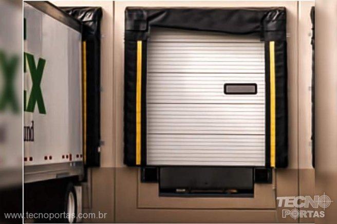 Portas Seccionadas Industriais Porta de Docas