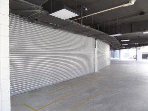 portas de enrolar industriais cortina metálica