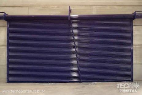 Portas de Enrolar Industriais