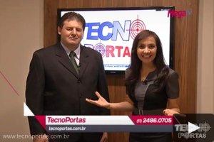 Tecnoportas na Mega TV - Grande São Paulo