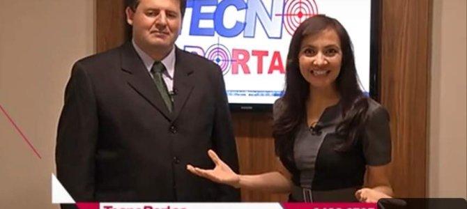 Tecnoportas na Mega Tv – Grande São Paulo