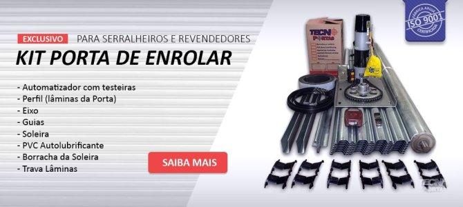 Kit Porta de Enrolar Automática