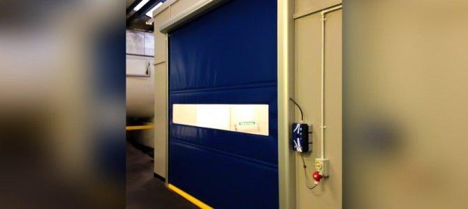 Fábrica de Porta industrial flexível