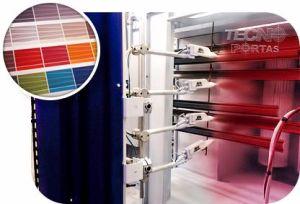 Porta de Enrolar é mais resistente com Pintura Eletrostática