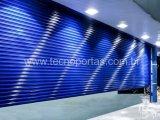 Porta de Enrolar Fechada Comercial - Tecnoportas