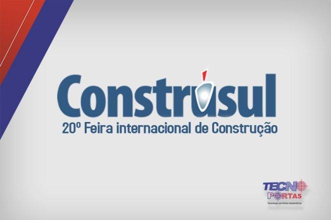 Tecnoportas na Construsul 2017