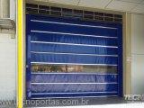 porta flexível de plastico Porta Flexível de Polipropileno Portas Industriais