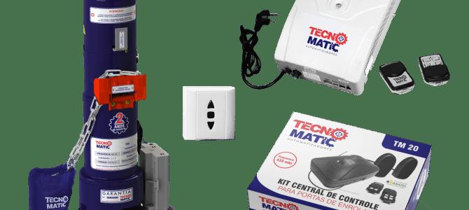 Motor Elétrico para Portão Industrial
